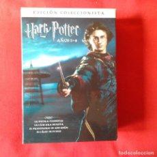 Cine: HARRY POTTER EDICION COLECCIONISTAS. SET 8 DVDS, 4 PELICULAS Y 4 EXTRAS BONUS. (3 CAJAS PRECINTADAS). Lote 119938751