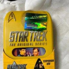 Cine: STAR TREK, ORIGINAL SERIES (G. RODDENBERRY,1966) 1ª TEMPORADA COMPLETA 8 DVD. Lote 119953335