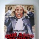 Cine: QUE ASCO DE VIDA • DVD (DESCATALOGADO) . Lote 119981539