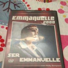 Cine: DVD. EMMANUELLE 2000. SER EMMANUELLE. DESCATALOGADA.. Lote 119985554
