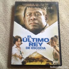 Cine: EL ULTIMO REY DE ESCOCIA DVD CON FOREST WHITAKER. Lote 119996843