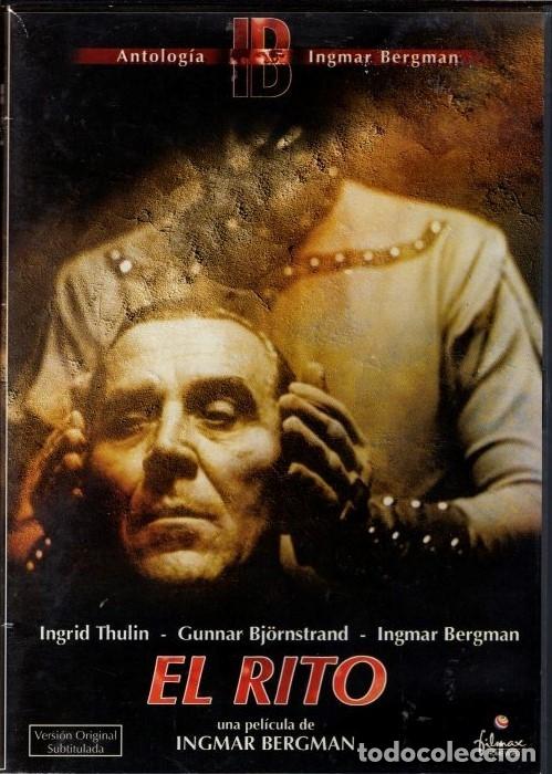 EL RITO (INGMAR BERGMAN) - EL DRAMA DE TRES ACTORES ANTE LA CENSURA (ACTUANDO EL PROPIO BERGMAN) (Cine - Películas - DVD)