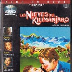 Cine: LAS NIEVES DEL KILIMANJARO. DVD. Lote 120096207