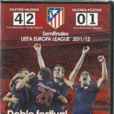 Cine: DVD FUTBOL - ATLETICO DE MADRID - SEMIFINALES UEFA EUROPA LEAGUE 2011/12 - PRECINTADO. Lote 120113859