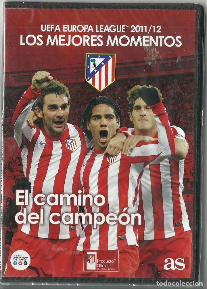ATLETICO DE MADRID - UEFA EUROPE LEAGUE 2011/12 - LOS MEJORES MOMENTOS - PRECINTADO (Cine - Películas - DVD)