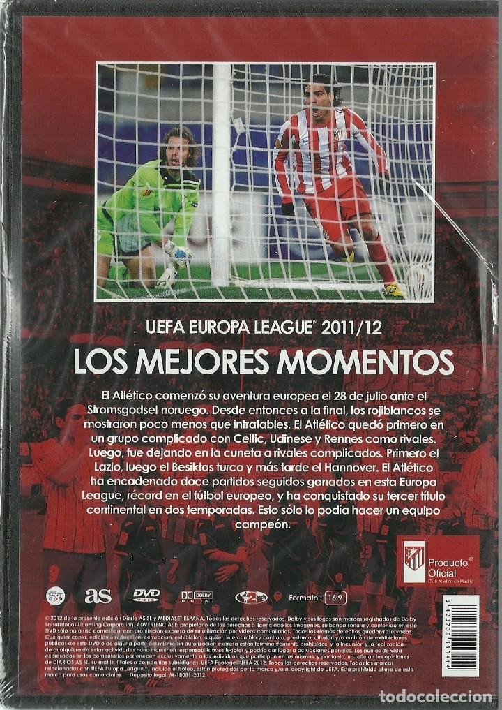 Cine: ATLETICO DE MADRID - UEFA EUROPE LEAGUE 2011/12 - LOS MEJORES MOMENTOS - PRECINTADO - Foto 2 - 120114971