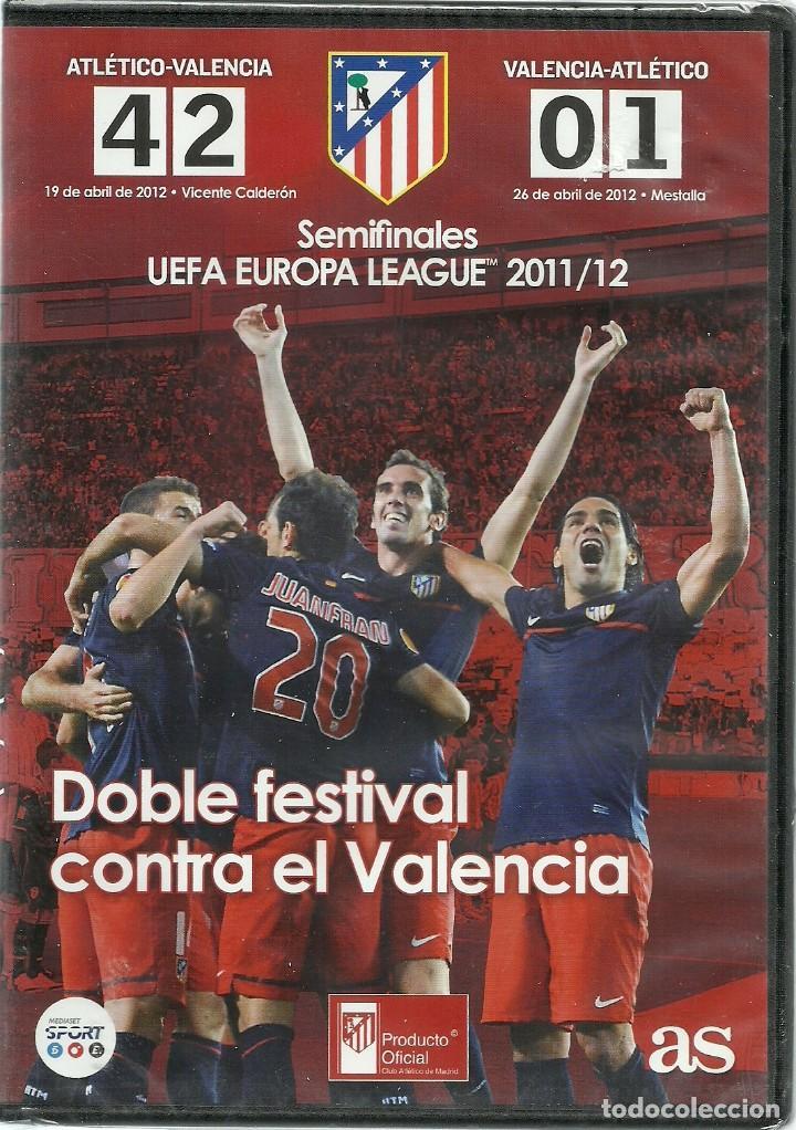 ATLETICO DE MADRID - SEMIFINALES UEFA EUROPA LEAGUE 2011/12 - PRECINTADO (Cine - Películas - DVD)
