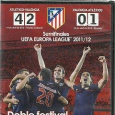 Cine: ATLETICO DE MADRID - SEMIFINALES UEFA EUROPA LEAGUE 2011/12 - PRECINTADO. Lote 120115087