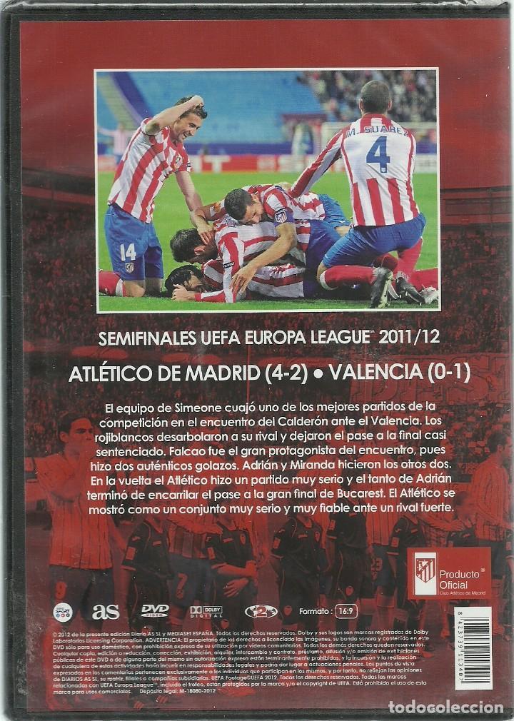 Cine: ATLETICO DE MADRID - SEMIFINALES UEFA EUROPA LEAGUE 2011/12 - PRECINTADO - Foto 2 - 120115087