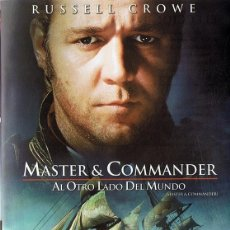 Cine: MASTER & COMMANDER RUSSELL CROWE (DVD). Lote 120201399