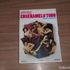 Cine: ENSEÑAMELO TODO TEMPORADA 2 COMPLETA 3 DVD NUEVA PRECINTADA. Lote 235178040