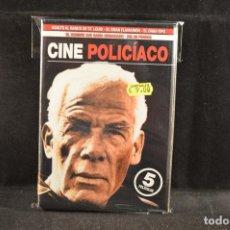 Cine: PACK CINE `POLICIACO - 5 DVD. Lote 120218071