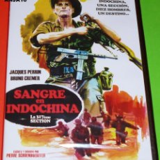 Cine: SANGRE EN INDOCHINA / LA 317EME SECTION - PRECINTADA. Lote 120243911