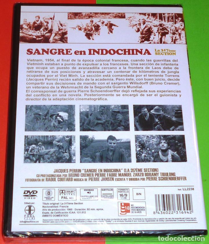Cine: SANGRE EN INDOCHINA / LA 317EME SECTION - Precintada - Foto 2 - 120243911