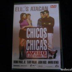 Cine: CHICOS Y CHICAS - DVD NUEVO PRECINTADO. Lote 120262935