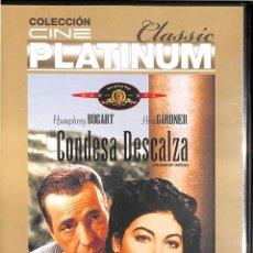 Cine: DVD LA CONDESA DESCALZA - HUMPREY BOGART / AVA GARDNER - NUEVA, PRECINTADA. Lote 158587774