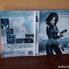 Cine: UNDERWORLD EVOLUTION - KATE BECKINSALE - DIRIGIDA POR LEN WISEMAN - DVD. Lote 120300039
