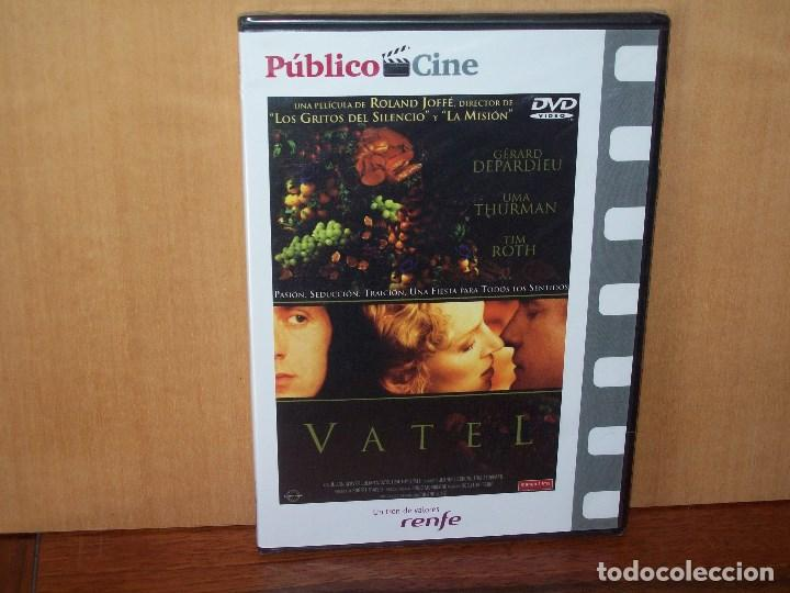 VATEL - GERARD DEPARDIEU - UMA THURMAN -DE ROLAND JOFFE - DVD CAJA FINA  PERIODICO NUEVA PRE