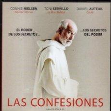 Cine: LAS CONFESIONES DVD (TONI SERVILLO) .- LOS QUE TE GOBIERNAN PROTEGEN SUS SECRETOS MUTUAMENTE. Lote 120447331