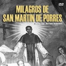 Cine: MILAGROS DE SAN MARTIN DE PORRES - LORENA VELAZQUEZ, ROBERTO CAÑEDO DVD NUEVO. Lote 120462195