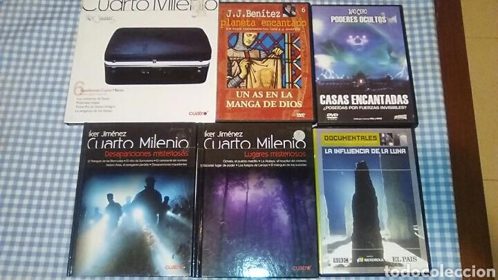 lote documentales dvd misterio...cuarto milenio - Comprar Películas ...