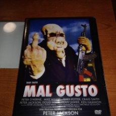 Cine: DVD MAL GUSTO BAD TASTE. Lote 120507419
