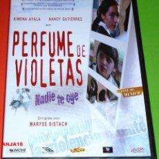 Cine: PERFUME DE VIOLETAS NADIE TE OYE - CINE MEXICANO - PRECINTADA. Lote 122117312