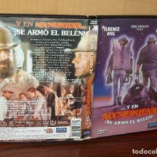 Cine: Y EN NOCHEBUENA SE ARMO ELBELEN - BUD SPENCER - TERENCE HILL - DVD . Lote 120676795