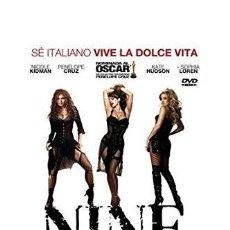 Cine: NINE. DVD. ROB MARSHALL. CON NICOLE KIDMAN, PENÉLOPE CRUZ, SOPHIA LOREN. Lote 120752199