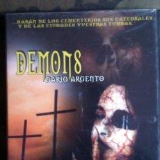 Cine: DEMONS - DARIO ARGENTO DVD. Lote 120924287