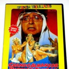 Cine: CUANDO ALMANZOR PERDIO EL TAMBOR - LUIS Mª DELGADO ANTONIO OZORES RAFAELA APARICIO DVD DESCATALOGADA. Lote 120976319