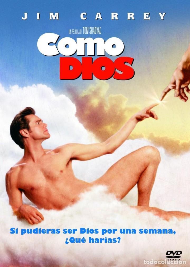 COMO DIOS - JIM CARREY - DVD (Cine - Películas - DVD)