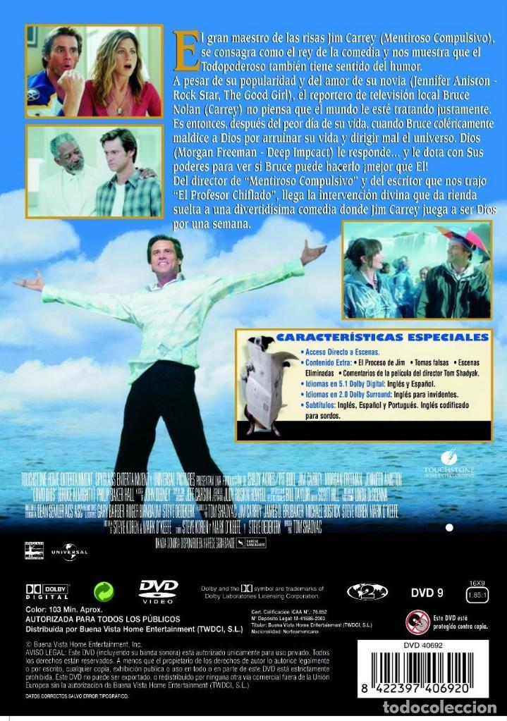Cine: Como Dios - Jim Carrey - DVD - Foto 2 - 121116495