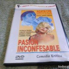 Cine: PASION INCONFESABLE DVD USADO CARÁTULA ARRUGADA VER FOTOS. Lote 176039793
