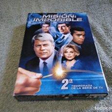 Cine: MISIÓN IMPOSIBLE SEGUNDA TEMPORADA DVD USADO DE LA SERIE DE TV VER FOTOS. Lote 121245155