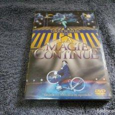 Cine: LA MAGIA CONTINÚE CIRQUE SU SOLEIL DVD NUEVO PRECINTADO. Lote 121302359