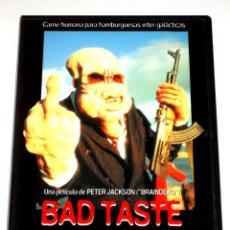 Cine: MAL GUSTO (BAD TASTE) - PETER JACKSON DVD ED. OFICIAL FILMAX DESCATALOGADA. Lote 121395531