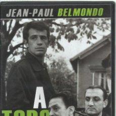 Cine: A TODO RIESGO, JEAN-PAUL BELMONDO. Lote 121660795