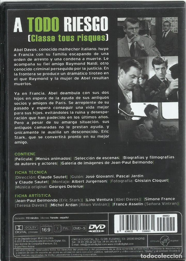 Cine: A todo riesgo, Jean-Paul Belmondo - Foto 2 - 121660795