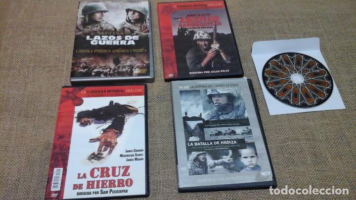 LOTE 1: CINCO DVD DE PELÍCULAS DE ACCIÓN (Cine - Películas - DVD)