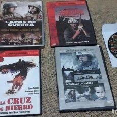 Cine: LOTE 1: CINCO DVD DE PELÍCULAS DE ACCIÓN. Lote 121676783