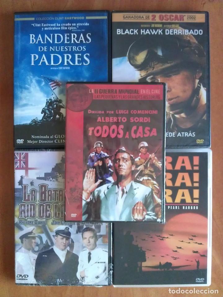 CINCO TÍTULOS BÉLICOS EN CINCO DVD (Cine - Películas - DVD)