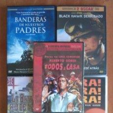 Cine: CINCO TÍTULOS BÉLICOS EN CINCO DVD. Lote 121750695