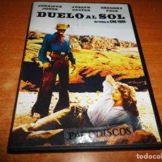 Cine: DUELO AL SOL DVD KING VIDOR JENNIFER JONES JOSEPH COTTEN GREGORY PECK OESTE AMERICANO. Lote 121790987