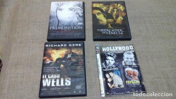 LOTE 3 : CUATRO DVD VARIADOS (Cine - Películas - DVD)