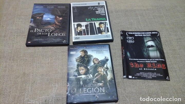 LOTE 4 : CUATRO DVD (Cine - Películas - DVD)