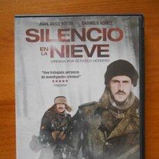 Cine: DVD SILENCIO EN LA NIEVE - JUAN DIEGO BOTTO - CARMELO GOMEZ (W3). Lote 122014375