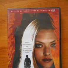Cine: DVD SIN RASTRO - EDICION DE ALQUILER - AMANDA SEYFRIED (W3). Lote 122014491