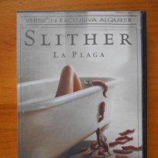 Cine: DVD SLITHER - LA PLAGA - EDICION DE ALQUILER (K4). Lote 122014935