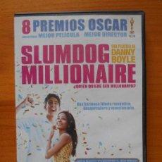 Cine: DVD SLUMDOG MILLIONAIRE - ¿QUIEN QUIERE SER MILLONARIO? - DANNY BOYLE (K4). Lote 122015055